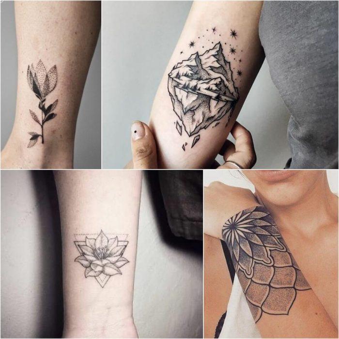 dotwork tattoo - dotwork geometric tattoo - dotwork tattoo simple