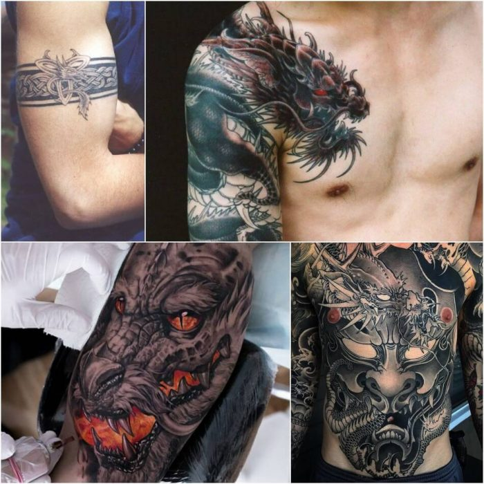 dragon tattoos - chinese dragon tattoos for men - dragon tattoos meaning