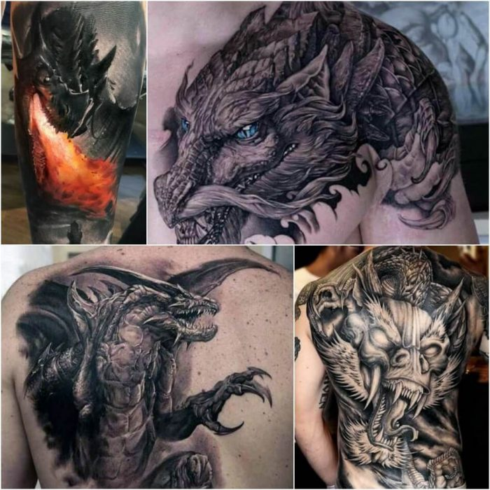 dragon tattoos - dragon tattoos for men - dragon tattoos meaning