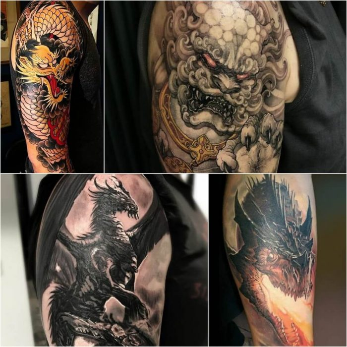 dragon tattoos - dragon tattoos for men - dragon tattoos sleeve