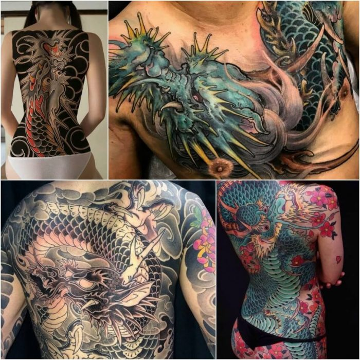 dragon tattoos - dragon tattoos meaning - chinese dragon tattoos for men