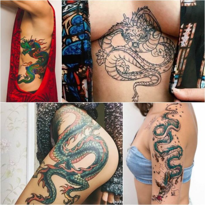 dragon tattoos - dragon tattoos meaning - dragon tattoos for women