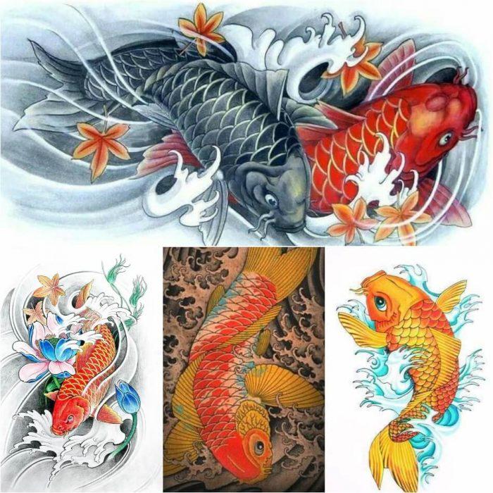 japanese tattoos - koi fish tattoo meaning - japanese tattoos meanings