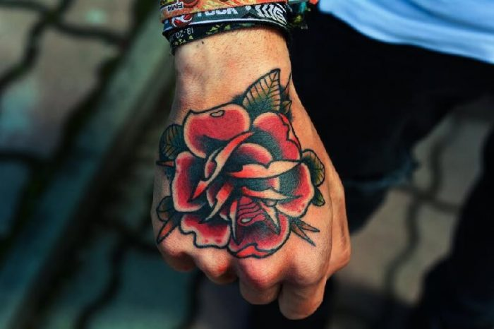 new school tattoo - new school rose tattoo - new school tattoo ideas