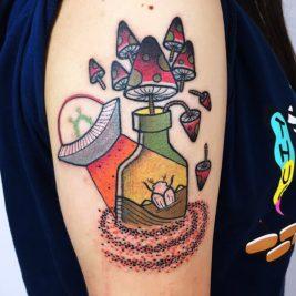 new school tattoo - new school tattoo ideas - new school tattoo art