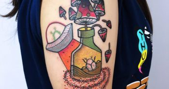 new school tattoo - new school tattoo ideas - new school tattoo art