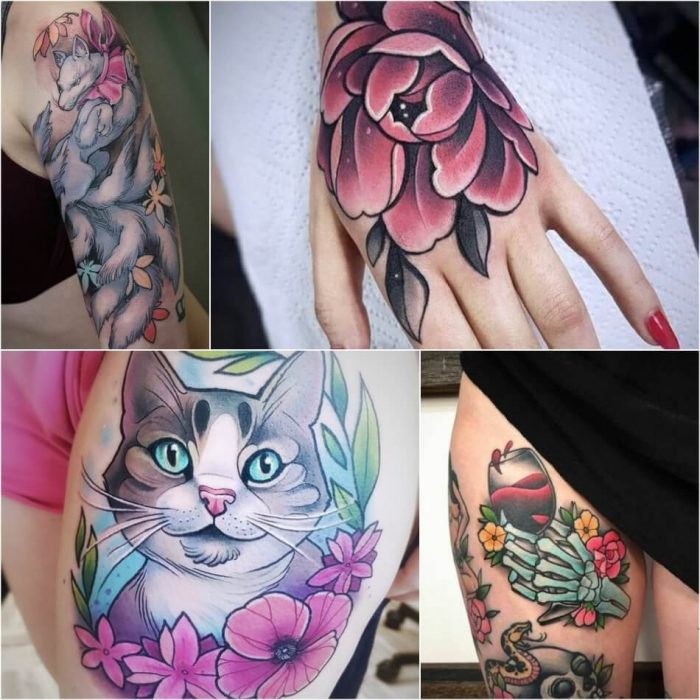 new school tattoo - new school tattoo ideas - new school tattoo for women
