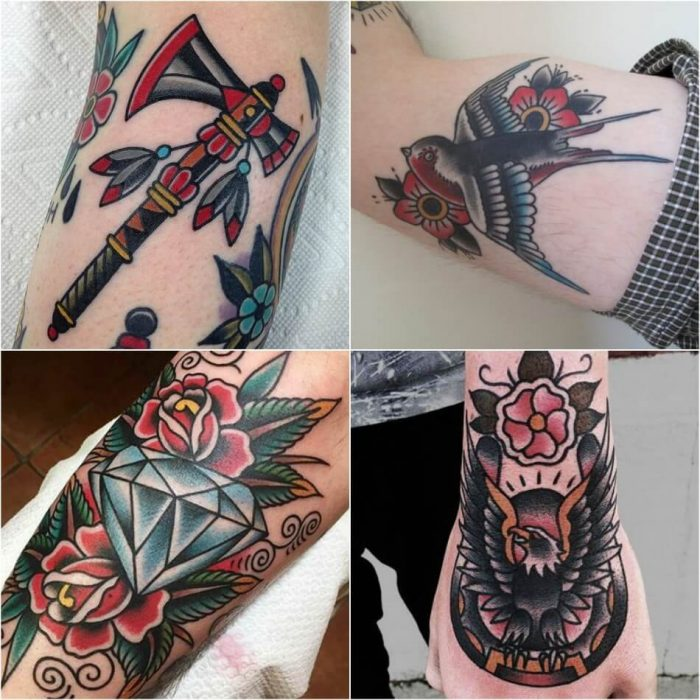 old school tattoos - old school tattoo design - old school tattoo for men