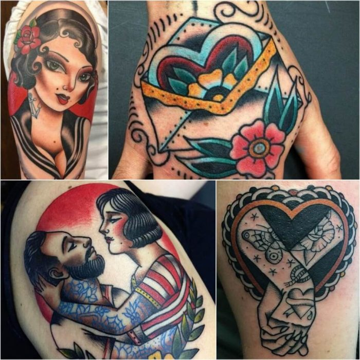 Old School Tattoos Traditional American Tattoos With A Sense Of Irony