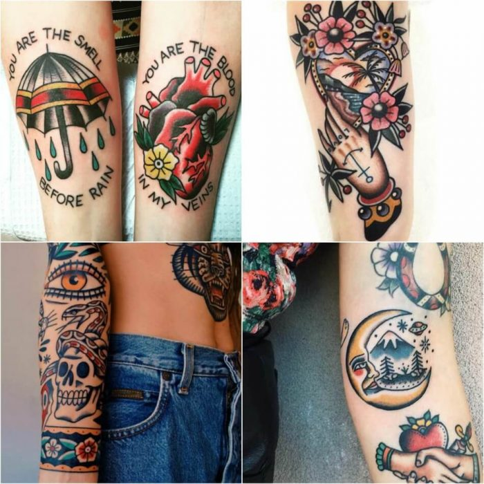 old school tattoos - old school tattoos sleeve - old school tattoos on hands
