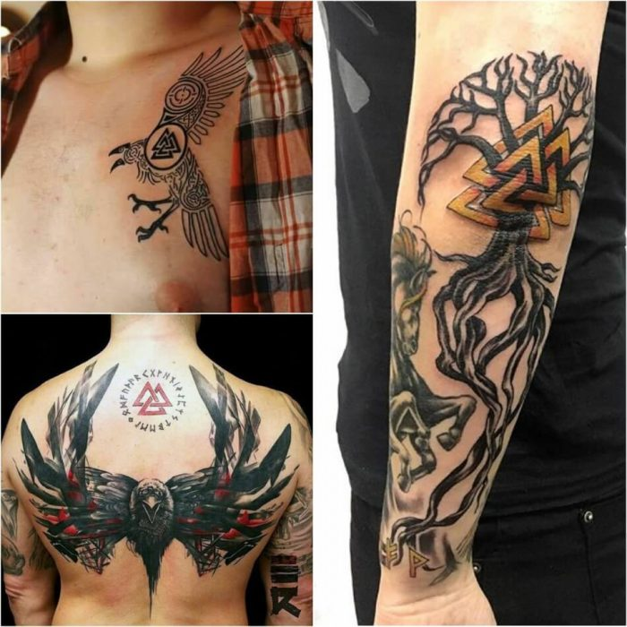 scandinavian tattoo for men - viking tattoos for men - nordic tattoos and meanings