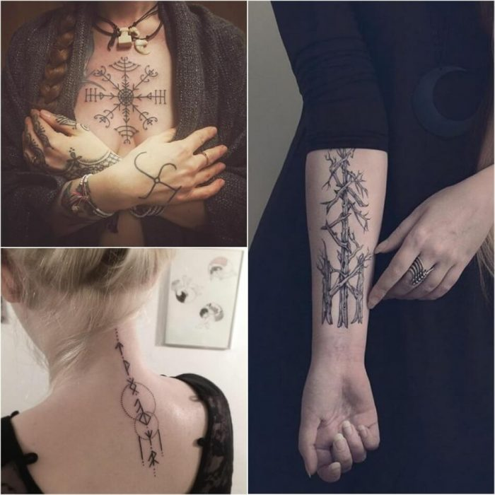 scandinavian tattoo for women - scandinavian tattoos female - viking tattoos for females