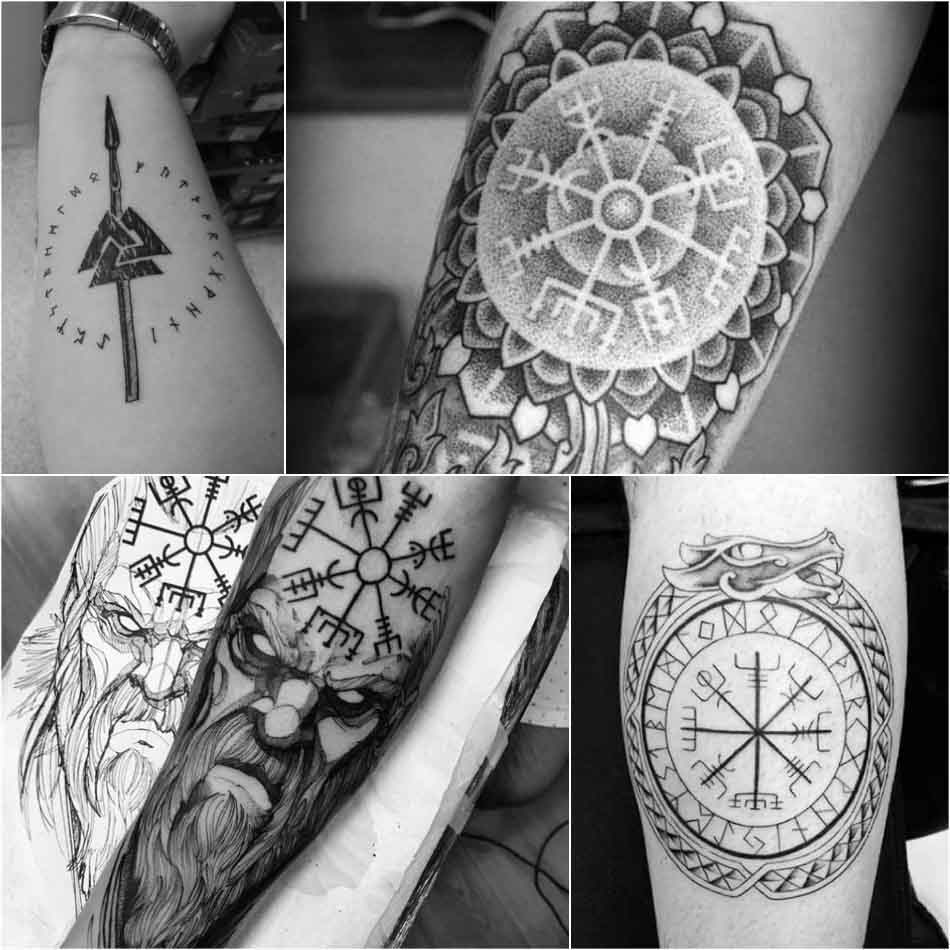 scandinavian tattoos - norse tribal tattoos - nordic tattoos and meanings