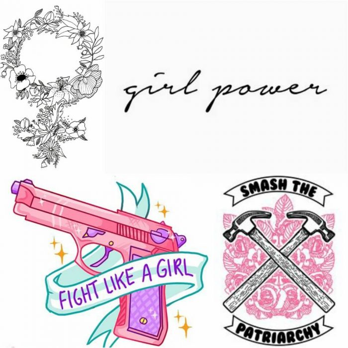 symbols of feminism in art - tattoo feminist - feminist symbol