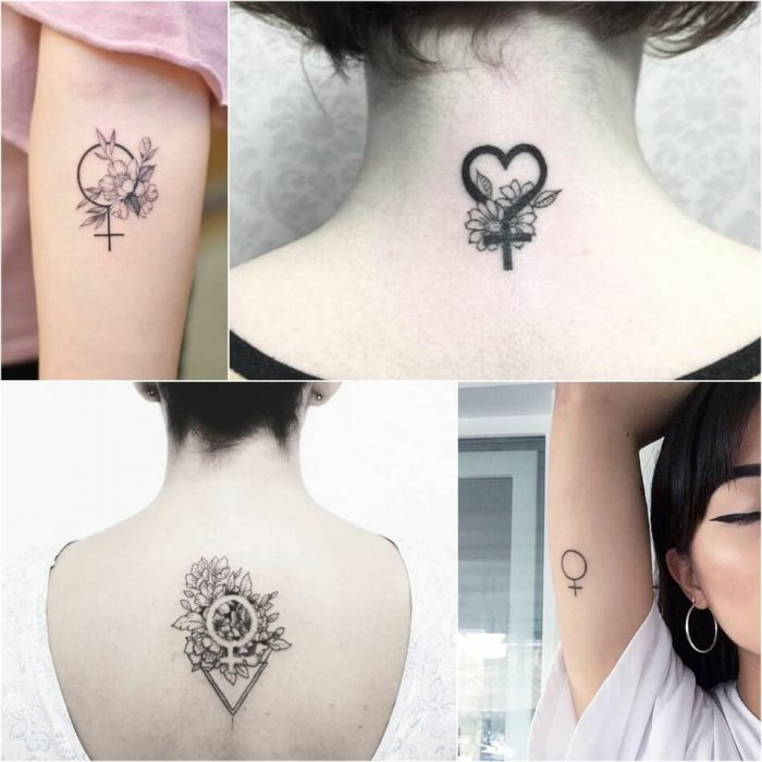tattoo feminist - venus tattoo - girl power tattoo