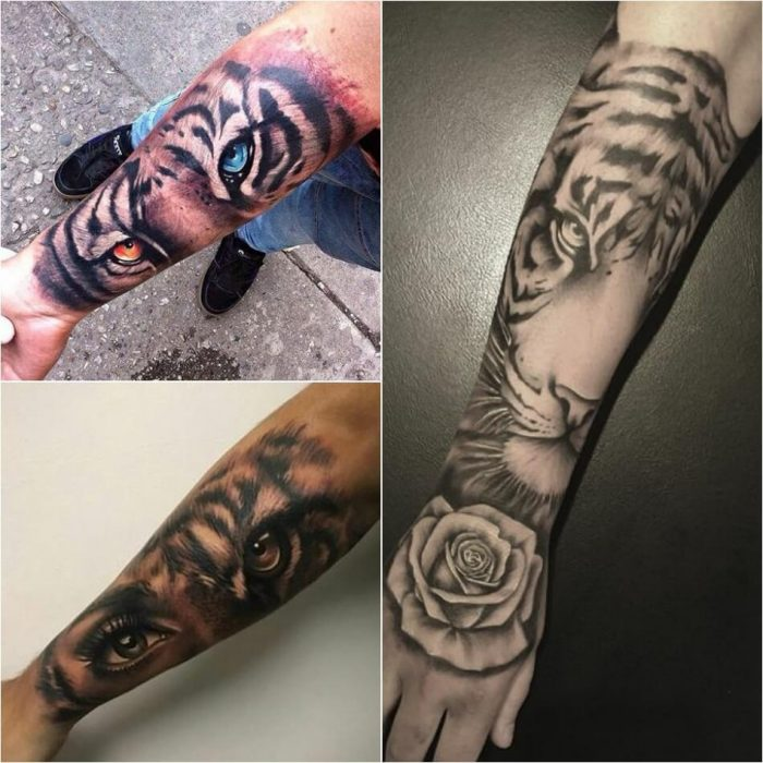 tiger tattoos - tiger tattoos for men - tiger tattoos on arm