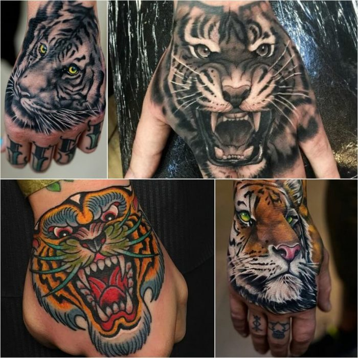 tiger tattoos - tiger tattoos meaning - tiger tattoo arm