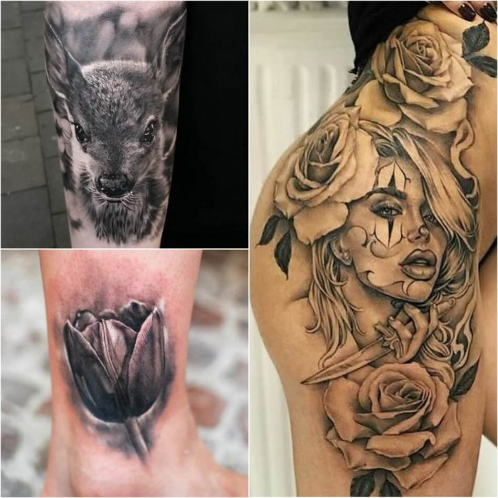 realism tattoo ideas - tattoo realism - realism tattoos black and grey