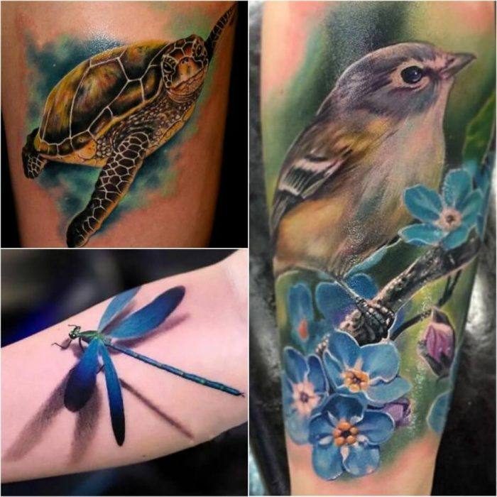 realistic 3d tattoos - tattoo realism - realism tattoo ideas