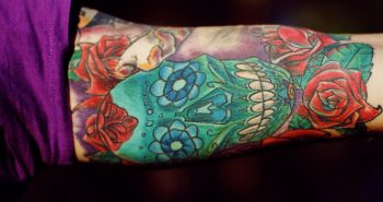 sugar skull tattoo - mexican skull tattoo - sugar skull tattoos for guys. Calavera Ink