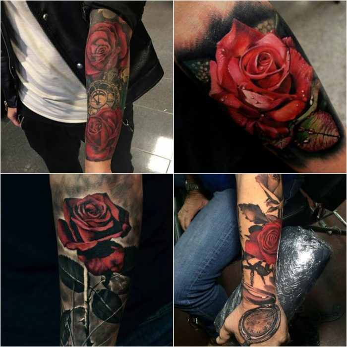 tattoo realism - realistic flower tattoos - hyper realistic tattoos