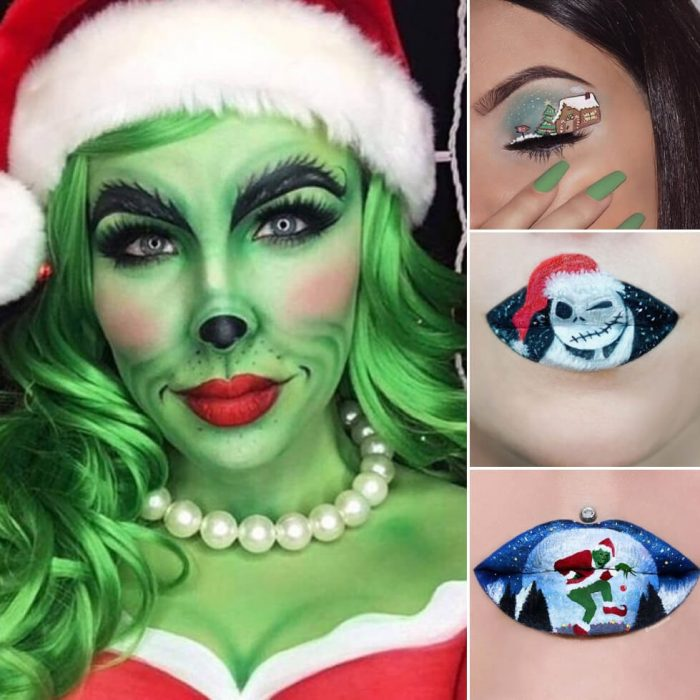 funny makeup ideas - festive makeup - makeup ideas