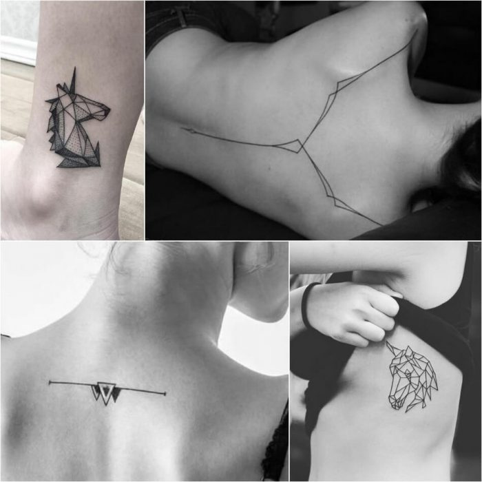 geometric tattoo - geometric tattoos designs - geometric tattoos small