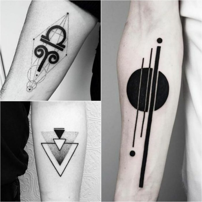geometric tattoo - geometric tattoos designs - simple geometric tattoos