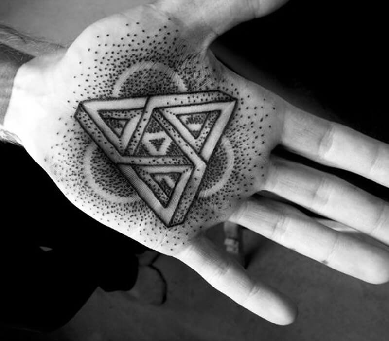 geometric tattoo - geometric tattoos meaning - geometric tattoos design