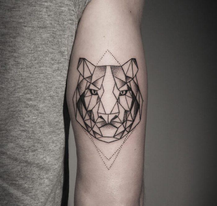 geometric tattoos animals - geometric tattoo - geometric tattoos design