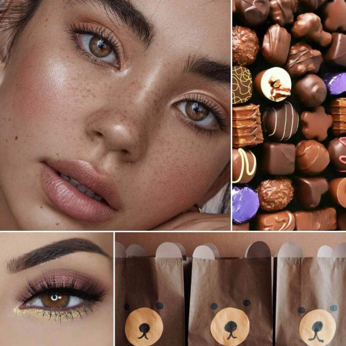 makeup looks for brown eyes - brown eyes makeup - brown looks