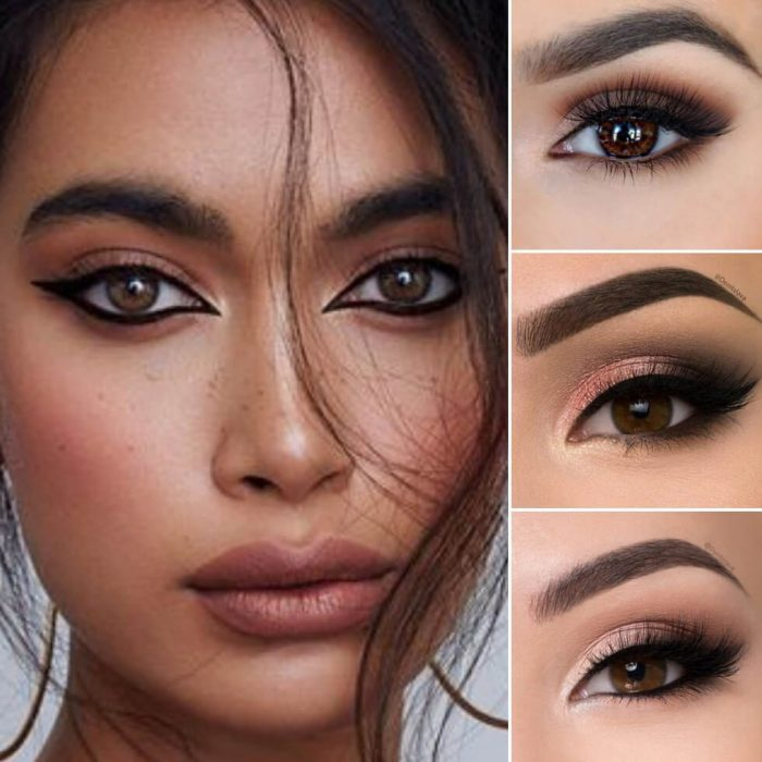 makeup looks for brown eyes - brown eyes makeup - brown looks