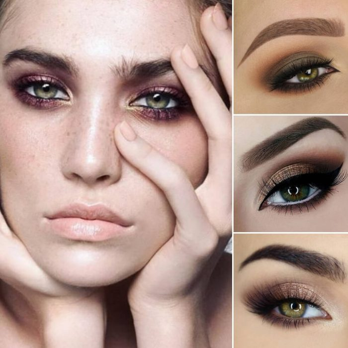 makeup looks for green eyes - green eyes makeup - green eyes looks