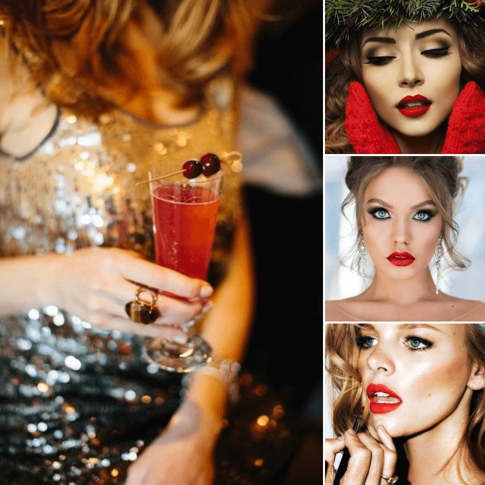 night out makeup ideas - mekeup ideas - christmas makeup