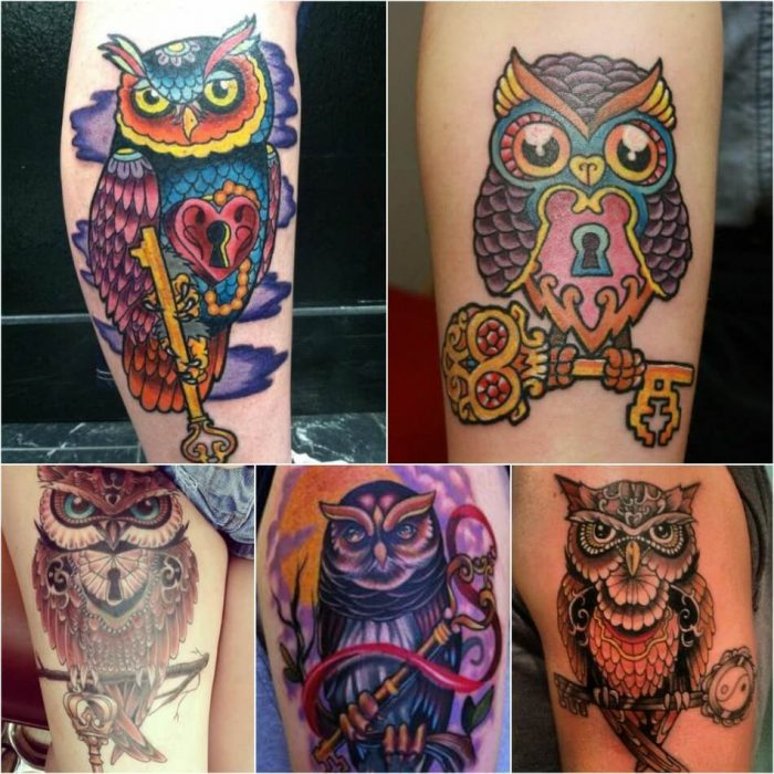 owl tattoo - owl tattoo meaning - owl tattoos designs