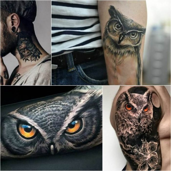 owl tattoo - owl tattoo meaning - owl tattoos for guys