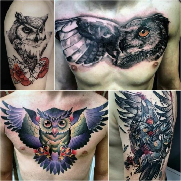 owl tattoo - owl tattoos for guys - owl tattoo meaning