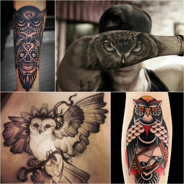 owl tattoo - owl tattoos for guys - owl tattoos meaning