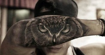 owl tattoo - owl tattoos on forearm - owl tattoos for guys