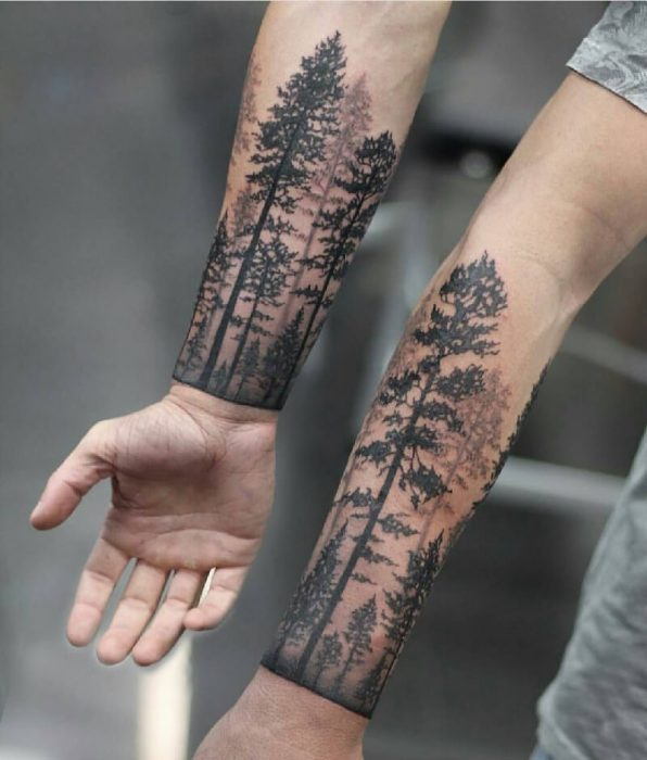 Tree Tattoo Design Forest Ink Ideas As A Symbol Of Life Knowledge