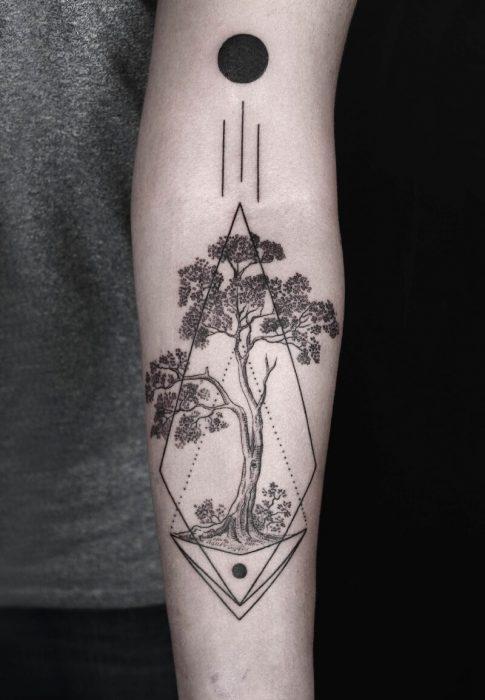 tree tattoos - tree tattoos meaning - tree tattoos on arm