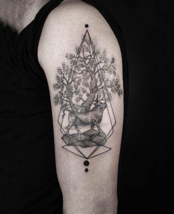 tree tattoos - tree tattoos meaning - tree tattoos shoulder