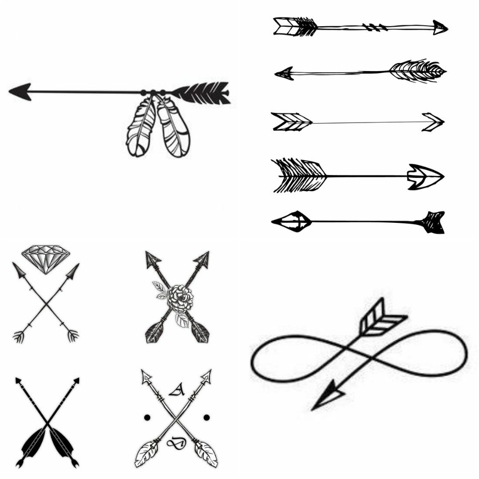 f65613cba Unique Arrow Tattoos Design with Meanings - So Simple Yet Meaningful