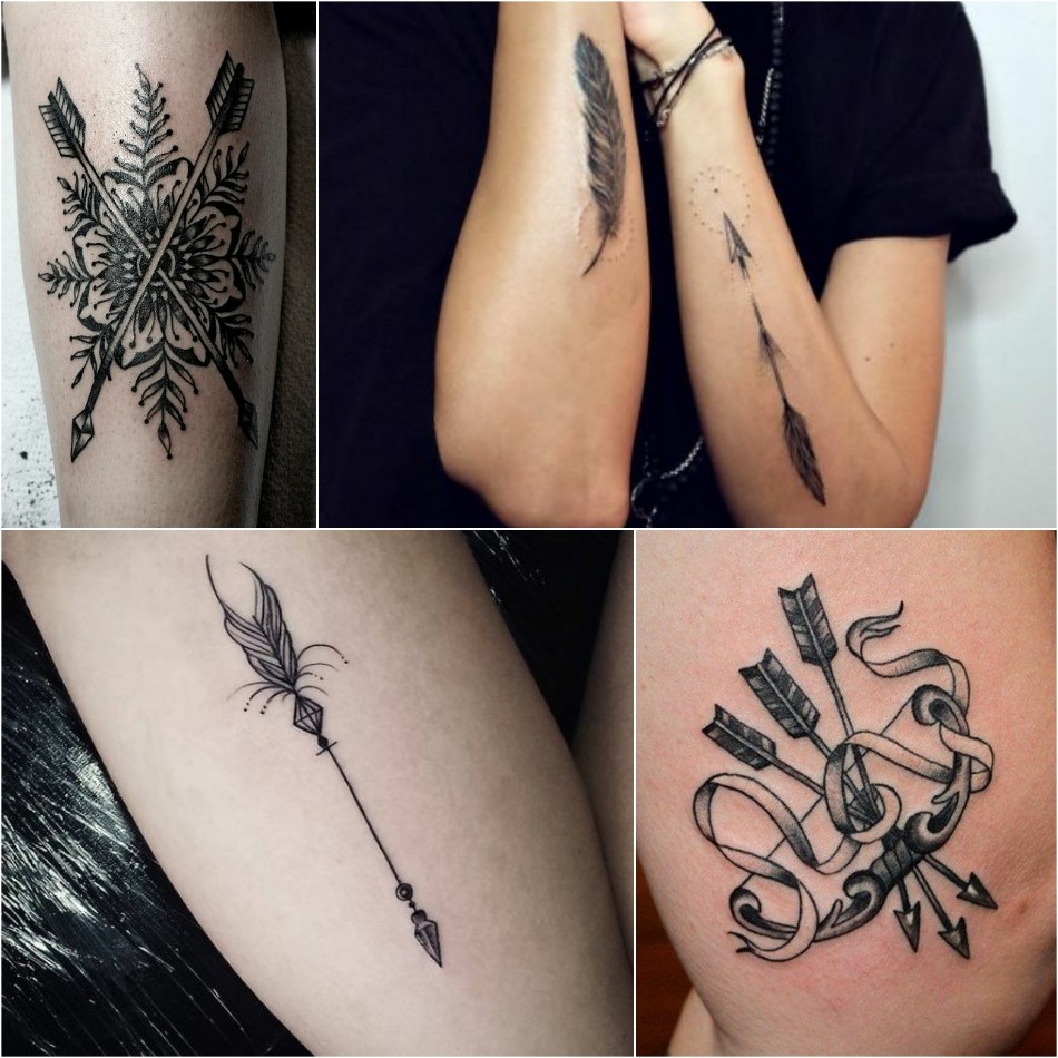 Unique Arrow Tattoos Design With Meanings So Simple Yet Meaningful Arrows are quickly becoming some of the most popular designs for tattoos. unique arrow tattoos design with