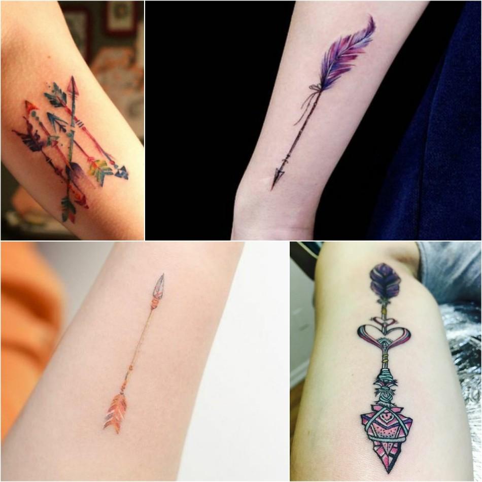 arrow tattoo - simple arrow tattoo - small arrow tattoo