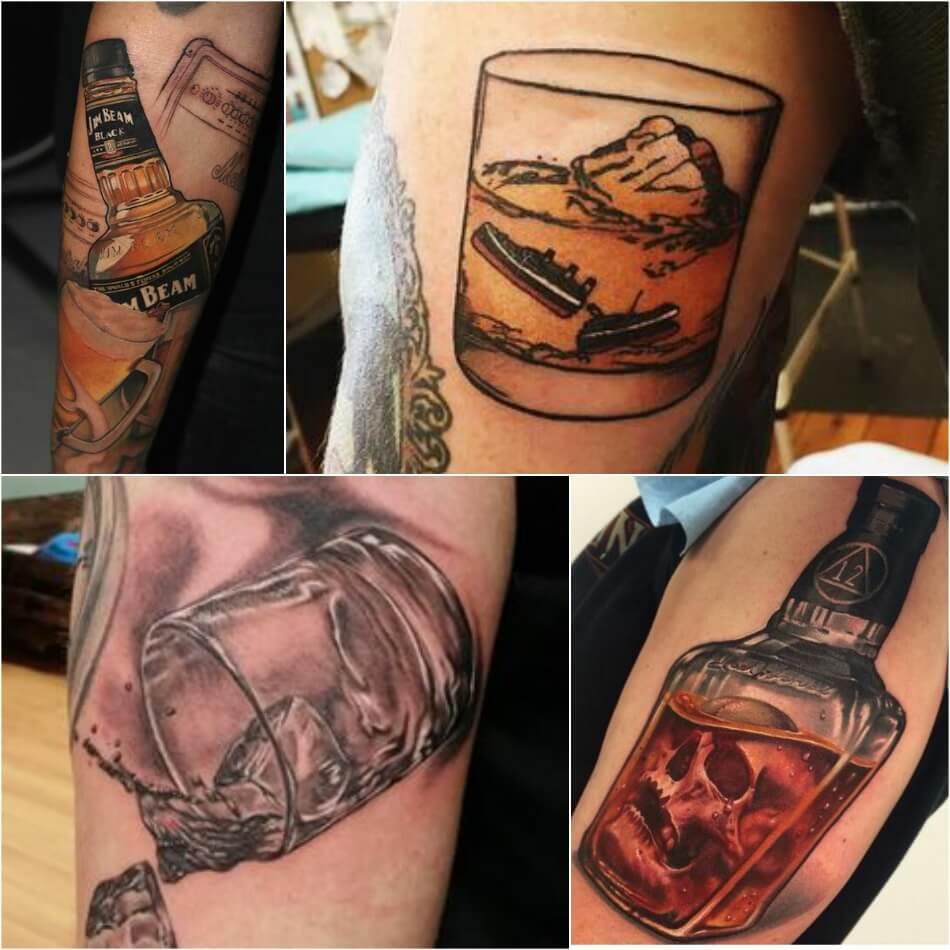 bartender tattoo - tattoos for bartenders - cocktail tattoo ideas