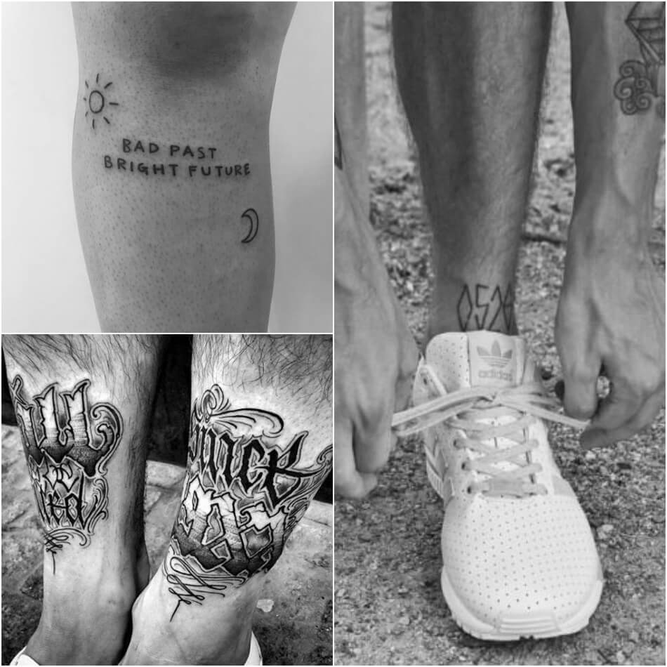quote tattoos for guys - quote tattoos for guys on leg - word tattoos for guys