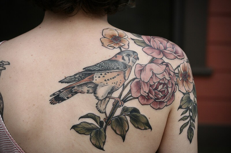 shoulder tattoos - back shoulder tattoos - shoulder tattoos for girls