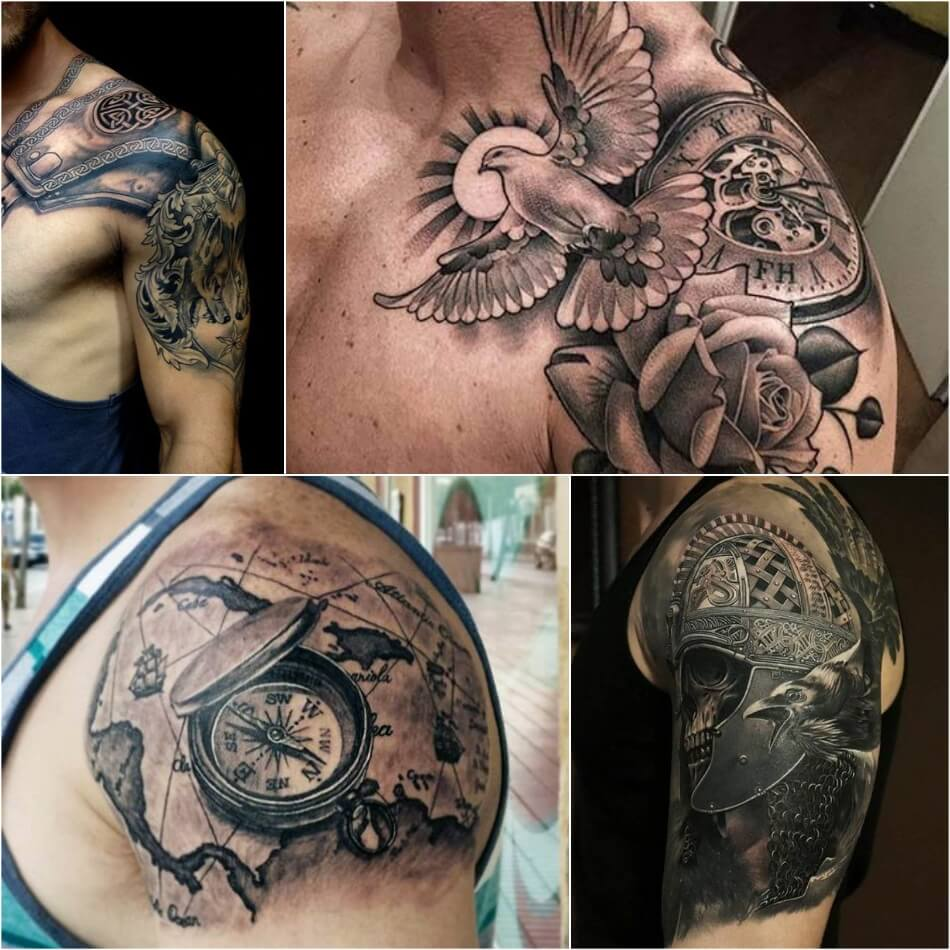 shoulder tattoos for men - shoulder tattoo - tattoo on shoulder