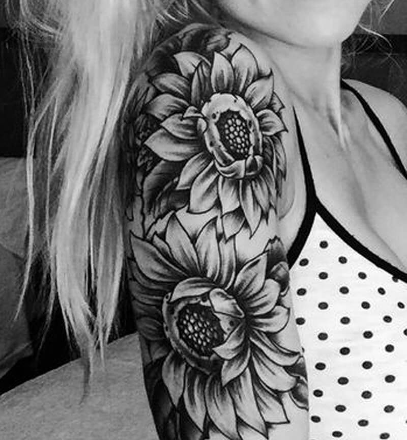 1dfcc60cb ... shoulder tattoos - shoulder tattoos flowers - shoulder tattoos for  girls ...